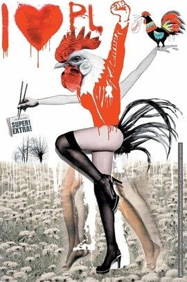 Plakat Jacka Staniszewskiego 66,6 x 100 cm